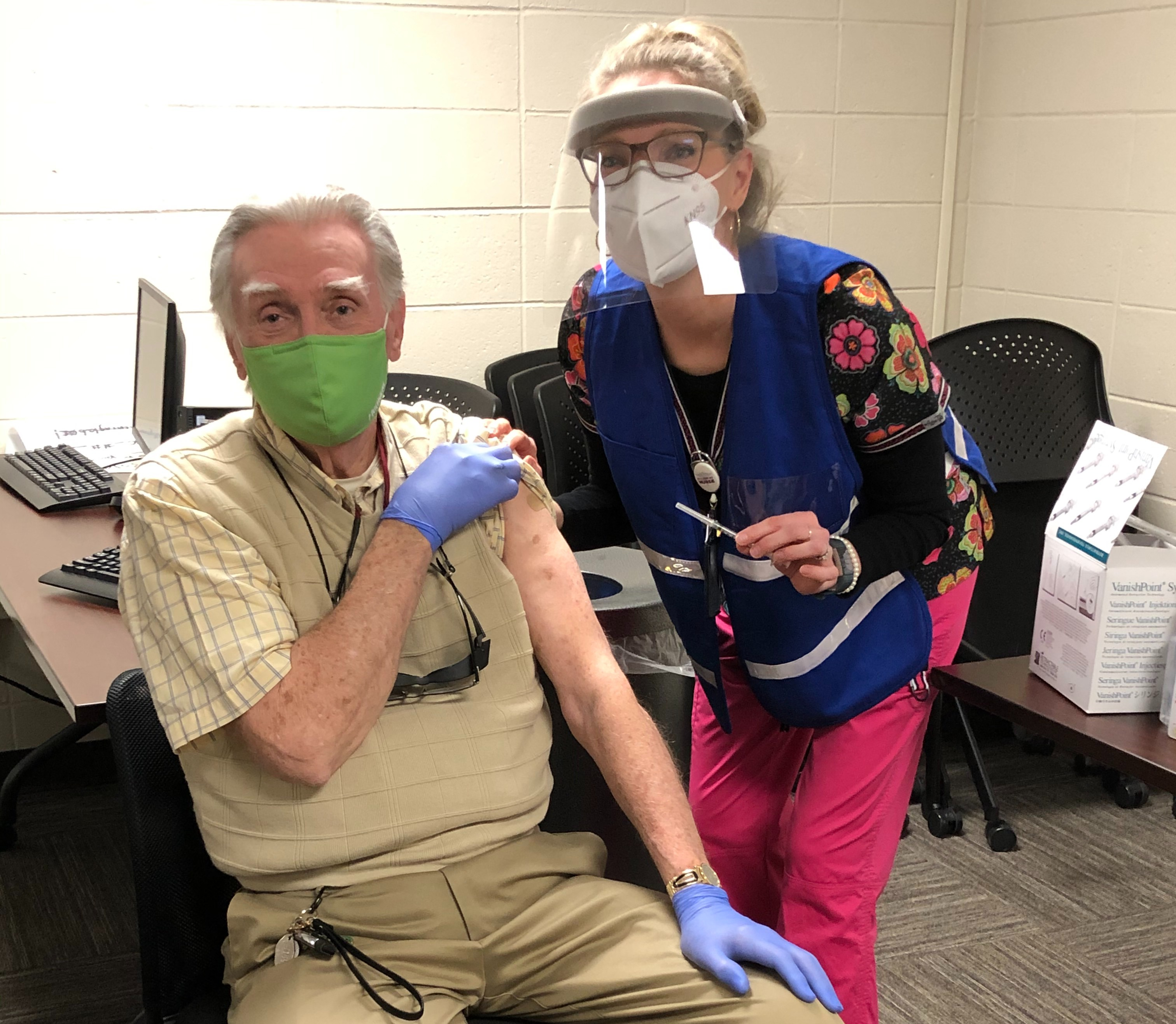Crystal Welch COVID Vaccine